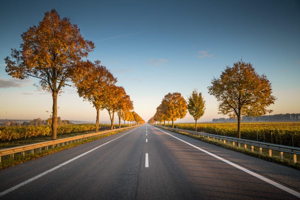 motorvej igennem mark grundet Ekspropriation